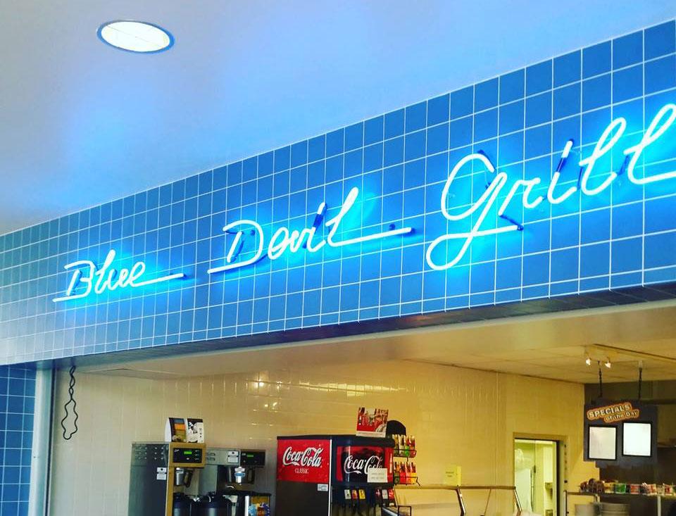 Blue Devil Grill, UW-Manitowoc | Broken Plate Catering Partner